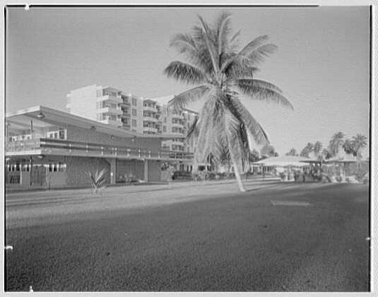 Arawak Hotel, Jamaica, British West Indies. Cabana