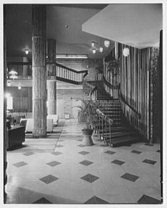 Arawak Hotel, Jamaica, British West Indies. To columns