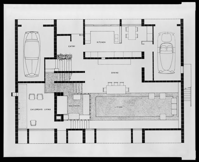[Milam residence, Ponte Vedra Beach, Florida. First floor plan]