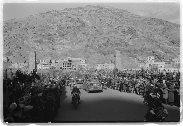 [Motorcade for President Eisenhower's visit to Kabul, Afghanistan] / [TOH].