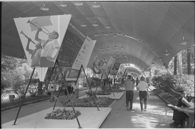 U.S.S.R., Moscow, temporary exhibit of Russian material