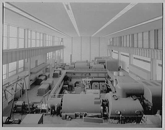 Bergen generating station, Ridgefield, New Jersey. From crane II