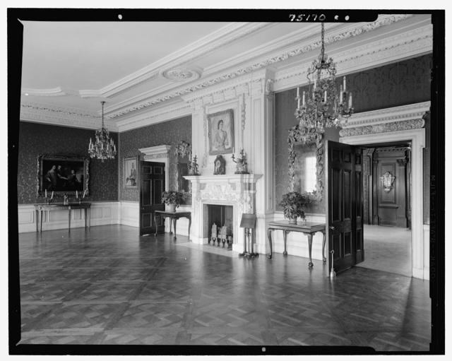 John S. Phipps Manor House, residence, Old Westbury Gardens, Old Westbury, Long Island. Ballroom