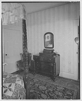 Franklin Pierce, residence at 52 S. Main St., Concord, New Hampshire. Pierce's bureau