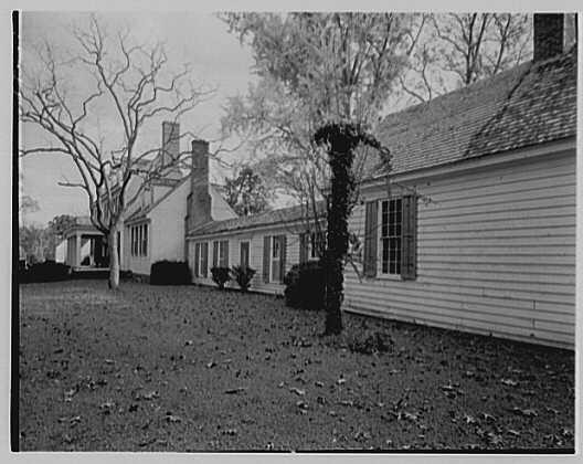 John Tyler, Sherwood Forest, residence in Virginia. Exterior I