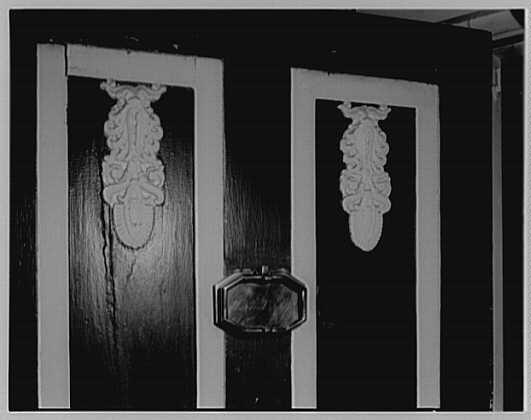 John Tyler, Sherwood Forest, residence in Virginia. Sherwood Forest panel