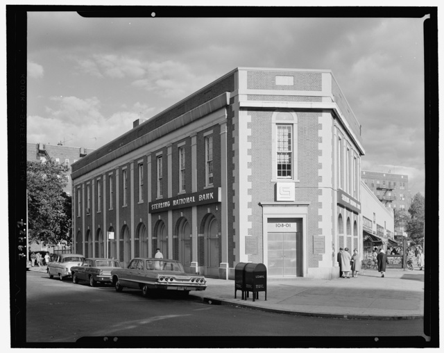 Sterling National Bank, 101-25 Queens Blvd., Forest Hills, Long Island. Exterior II