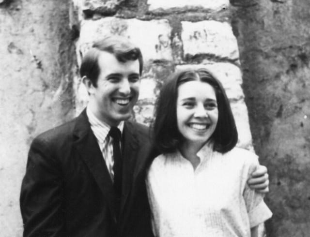 [Roger and Karen Reynolds, Paris, June 1964]