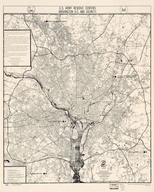 U.S. Army Reserve centers, Washington D.C. and vicinity /