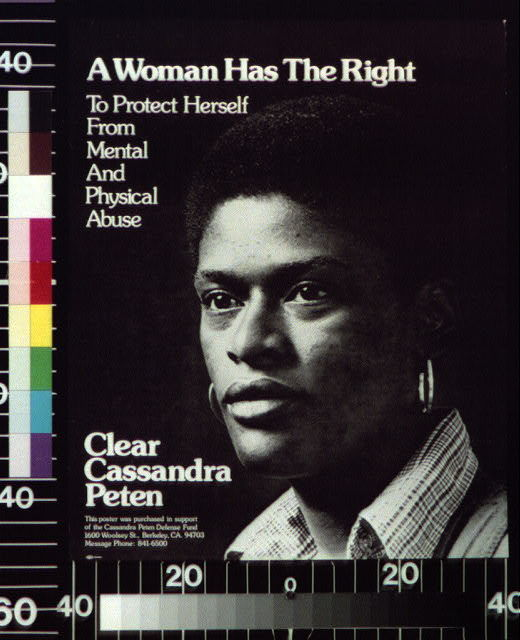 A woman has the right to protect herself from mental and physical abuse Clear Cassandra Peten.