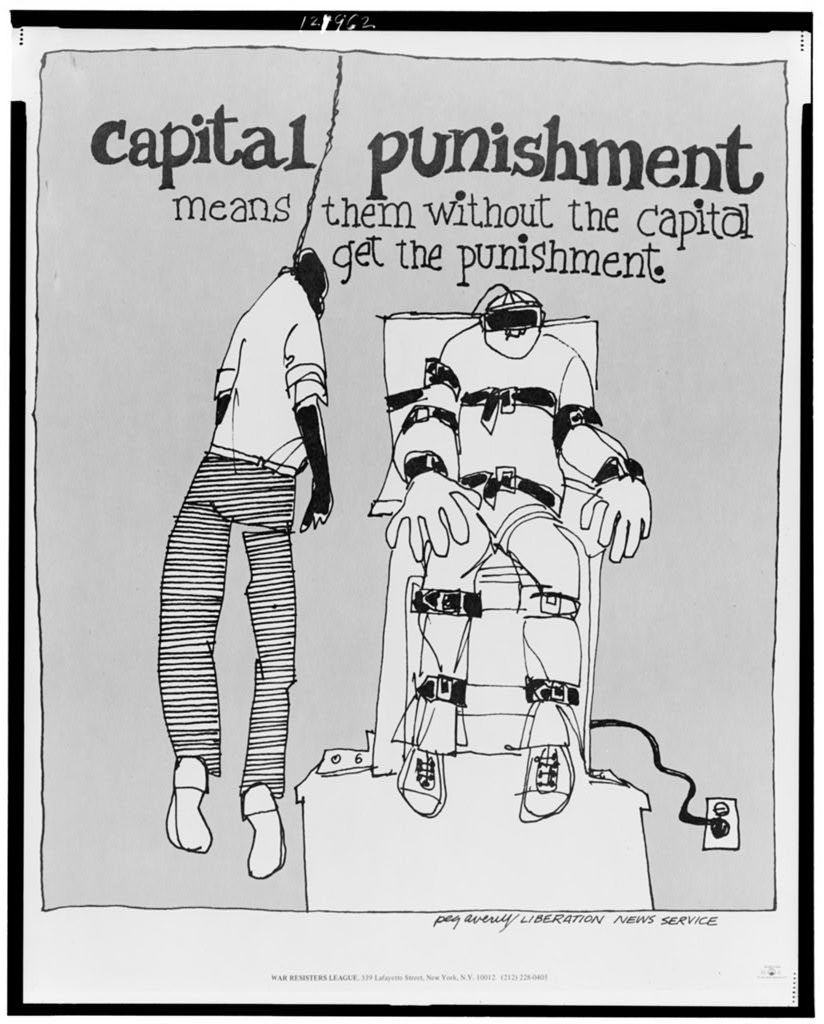 Capital punishment means them without the capital get the