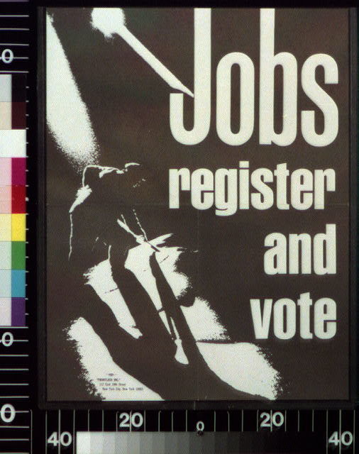 Jobs : register and vote