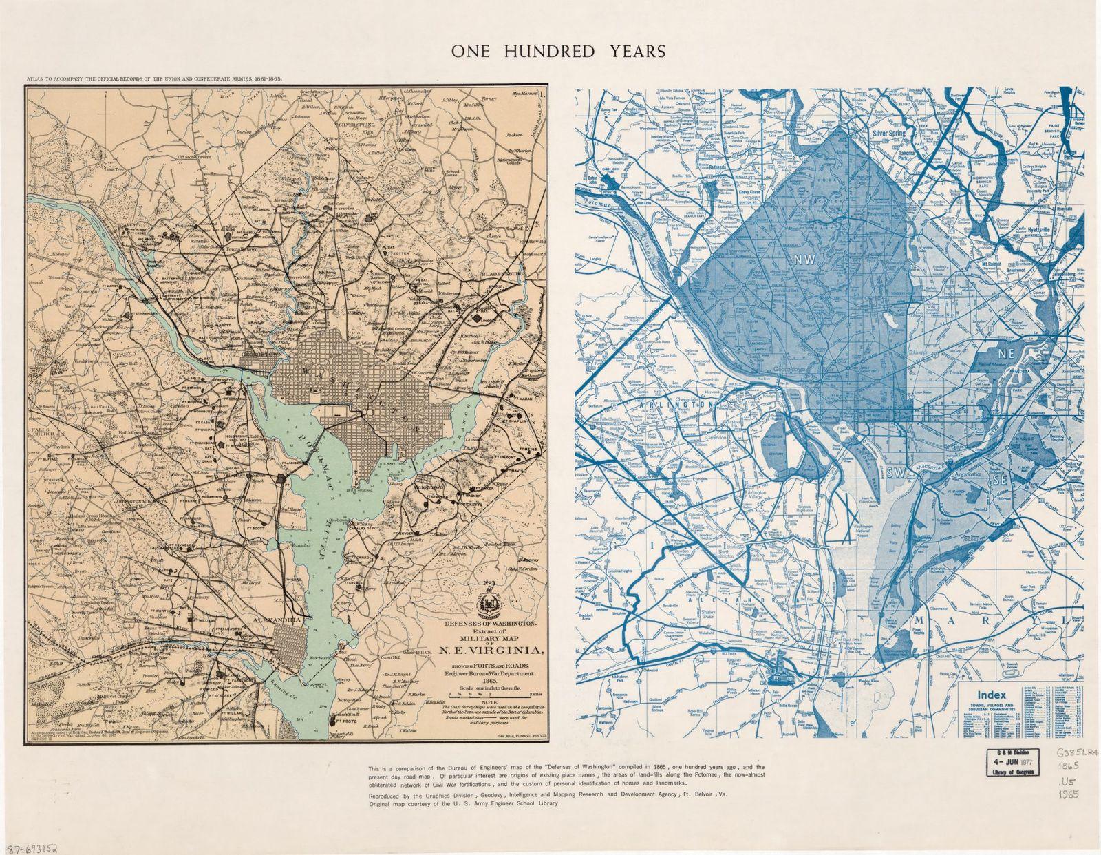 One hundred years : [Washington D.C. and metropolitan area] /