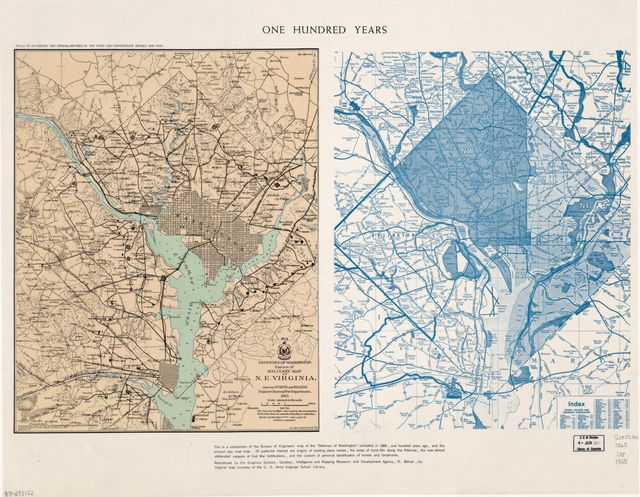 One hundred years : [Washington D.C. and metropolitan area] /
