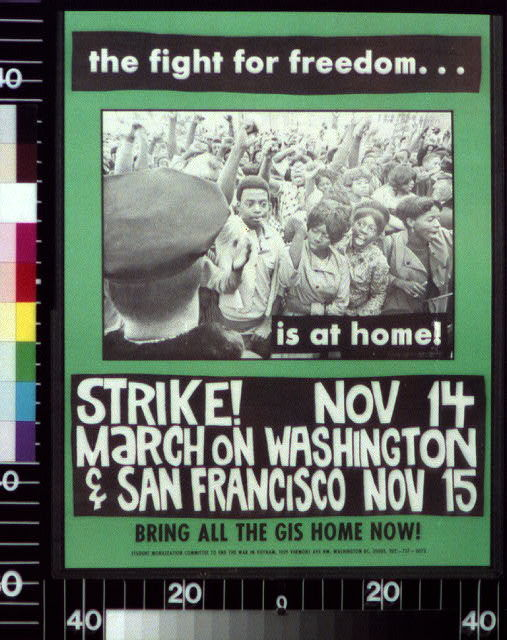 The fight for freedom... is at home! Strike!