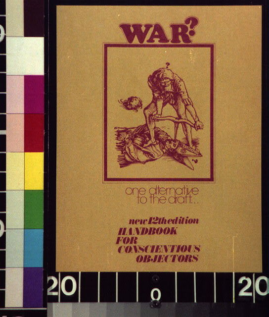 War? One alternative to the draft.