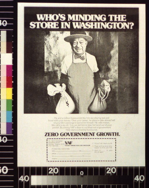Who's minding the store in Washington?