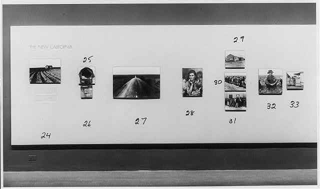 Dorothea Lange Exhibition at the Museum of Modern Art, New York City, Jan. 24-March 27, 1966