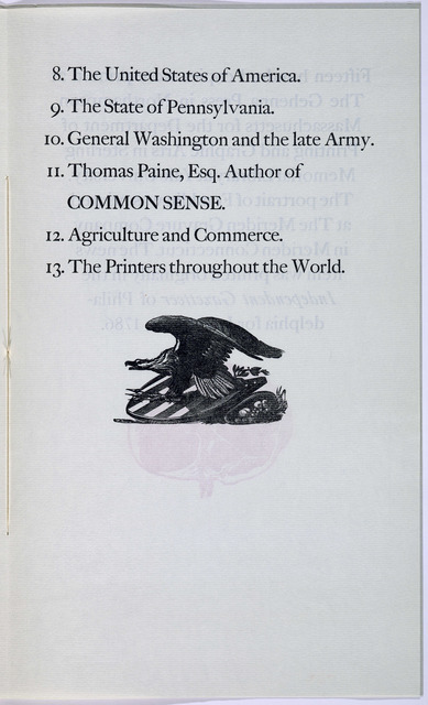 The encouragers of the art of printing. [New Haven, Printed at the Gehenna Press in Northampton Massachusetts for ... Yale University, 1966].