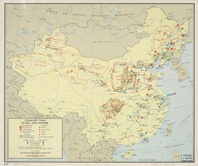 Communist China, fuels and power.