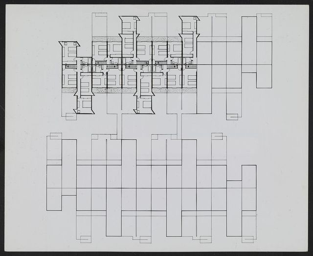 [Fort Lincoln housing, Washington, D.C. (project). Third floor plan]