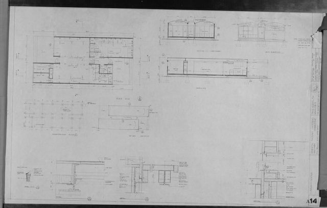 [Oriental Masonic Gardens, Wilmot Road, New Haven, Connecticut. Blueprint set ]