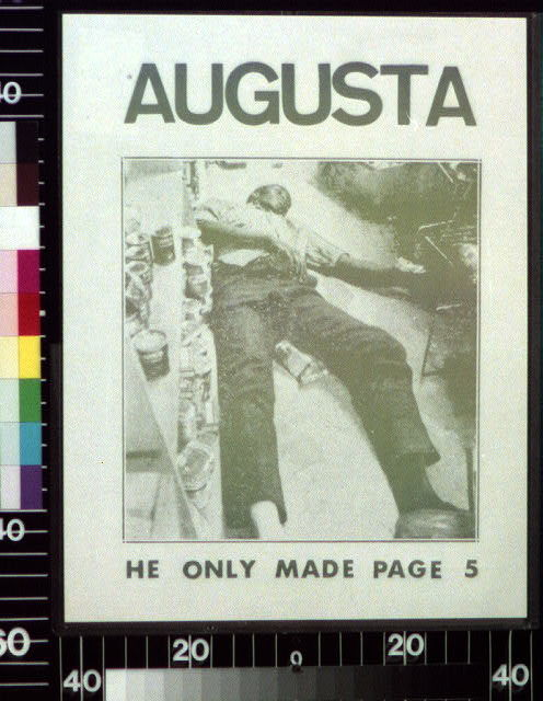 Augusta, he only made page 5