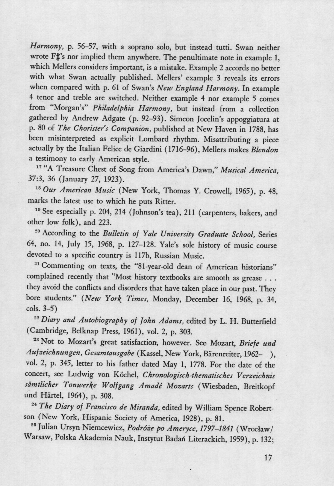 Philosophies of American Music History A lecture delivered in The Whittall Pavilion of The Library of Congress, January 9, 1969