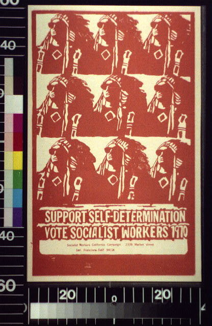 Support self-determination : vote Socialist Workers, 1970