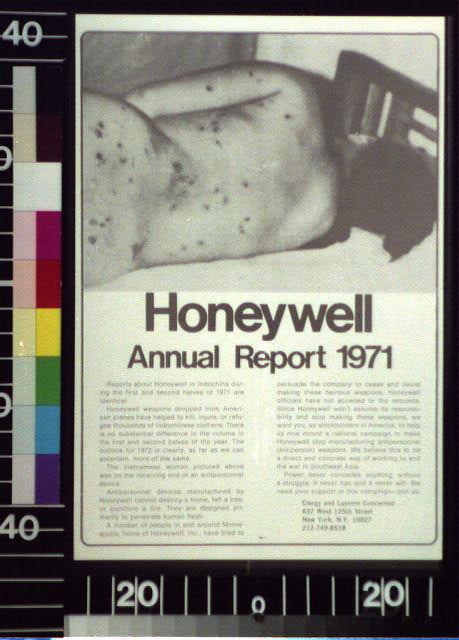 Honeywell annual report, 1971