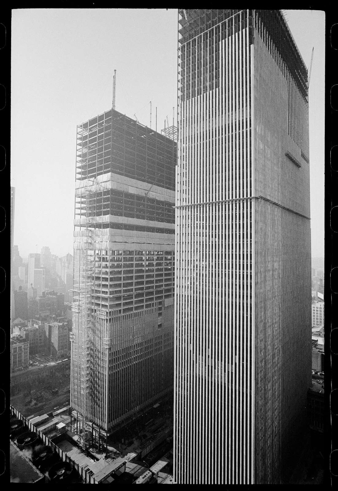 Surplus office space in New York City World Trade Center