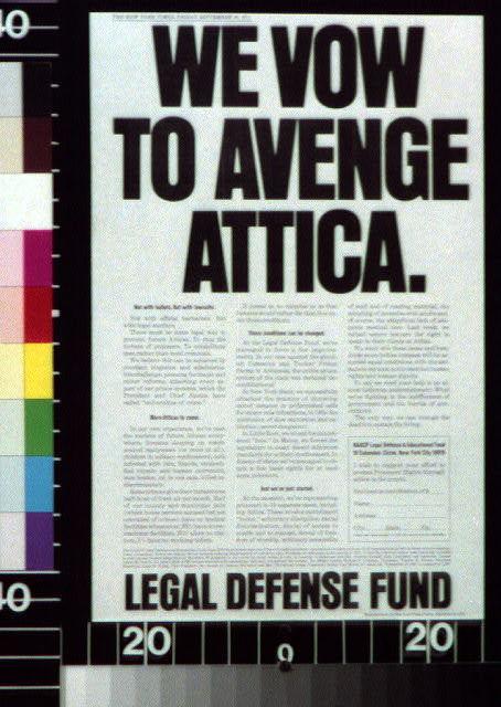 We vow to avenge Attica