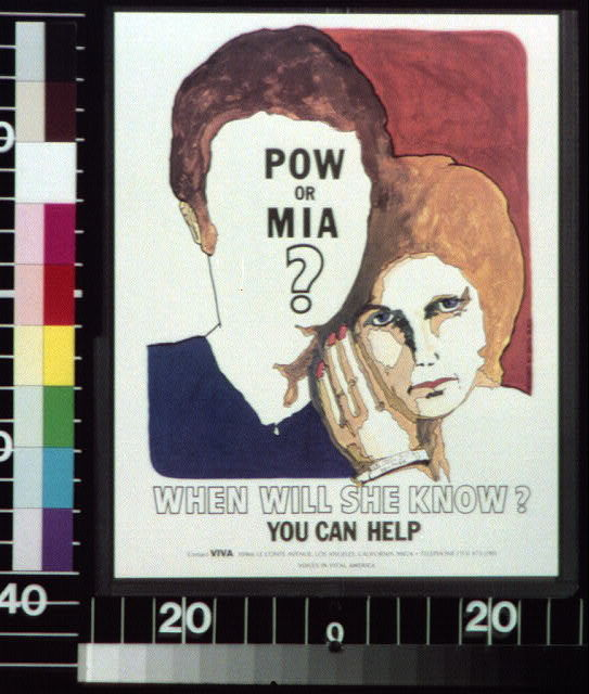 POW or MIA? When will she know? You can help.