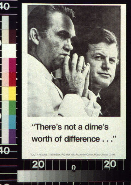 """There's not a dime's worth of difference ..."""
