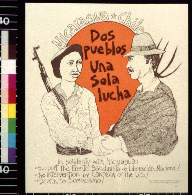 Nicaragua, Chile : dos pueblos, una sola lucha