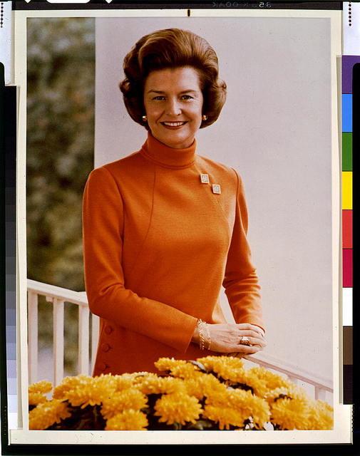 [Mrs. Gerald Ford, half-length portrait, facing front]