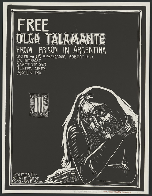 Free Olga Talamante from prison in Argentina
