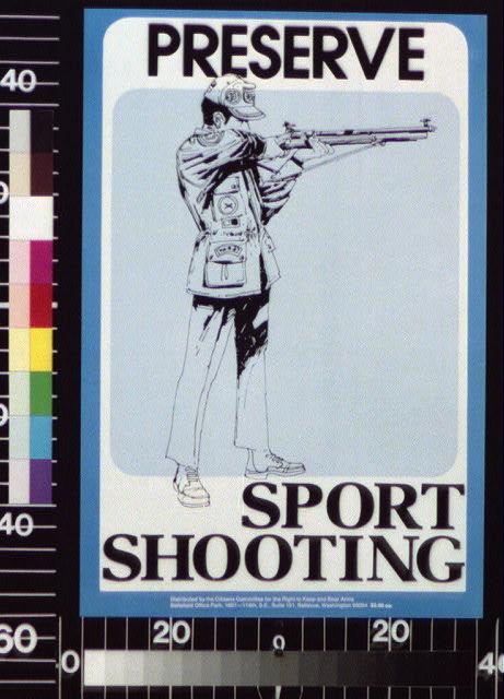 Preserve sport shooting