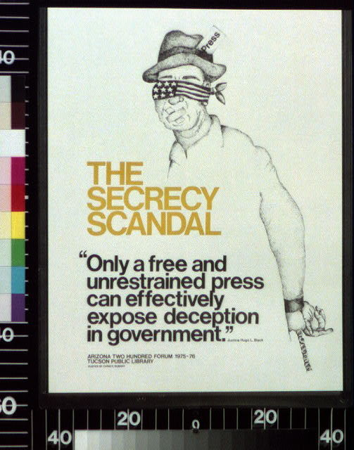 The secrecy scandal