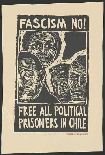 Fascism no! Free all political prisoners in Chile