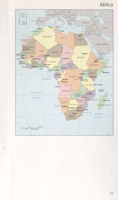 Maps of the world's nations.