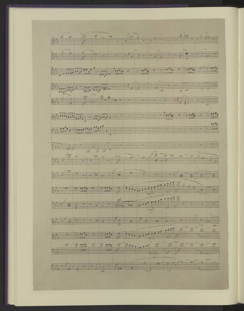 Octet for strings, op. 20 a facsimile of the holograph in the Whittall Foundation Collection