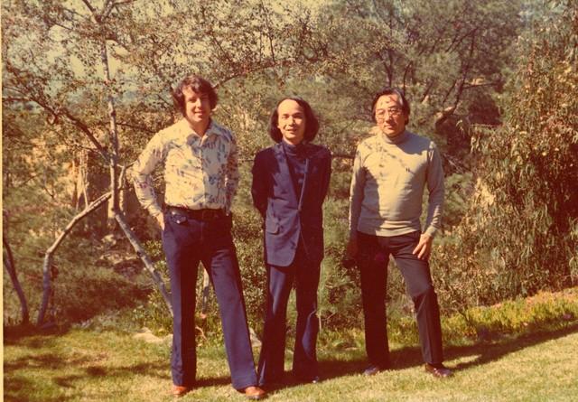 [ Roger Reynolds, Toru Takemitsu, and Joji Yuasa, Del Mar, CA]