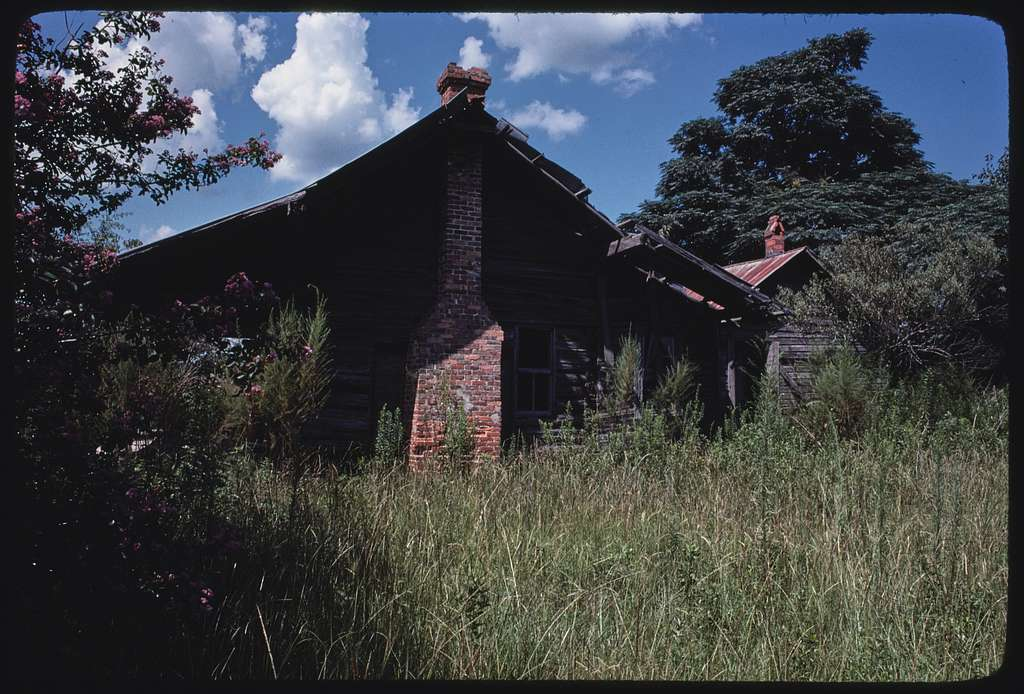 Akins family, Berrien County, Georgia; Houses