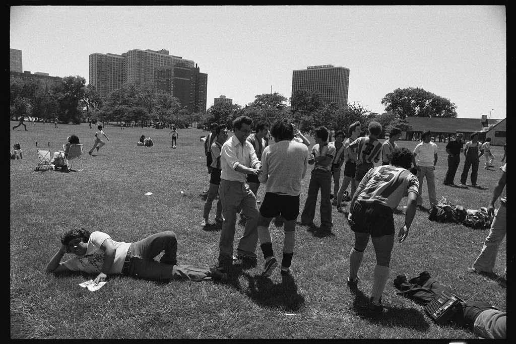 Latino soccer, Chicago, Illinois