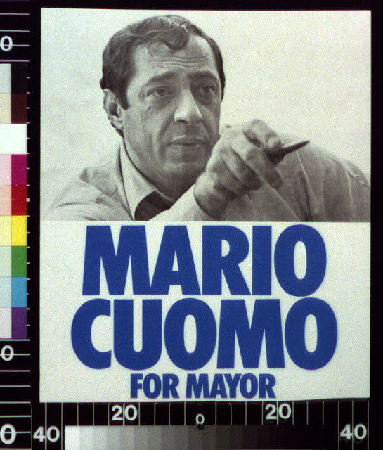 Mario Cuomo for mayor