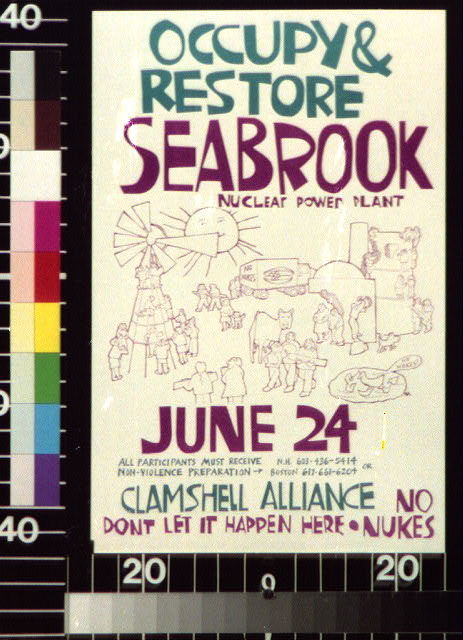 Occupy & restore Seabrook Nuclear Power Plant, June 24