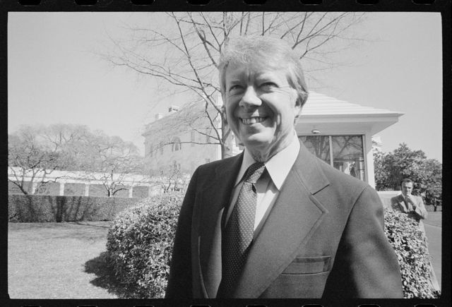 [President Jimmy Carter at the White House, Washington, D.C.]