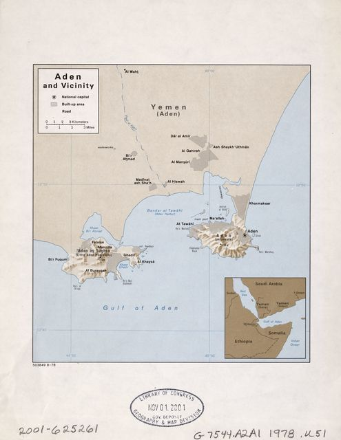 Aden and vicinity.