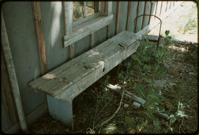 Bench, Ninety-Six Ranch